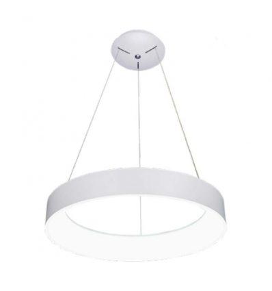 Lámpara de techo led anillo blanca 42W