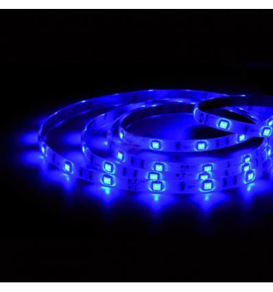 Tira de led 5 mts IP65 7,2W colores
