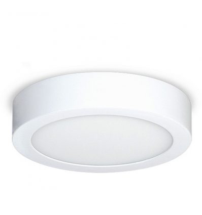 Downlight Led redondo de superficie blanco 18W