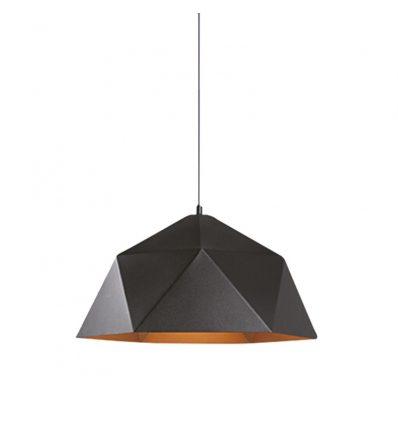 Lámpara colgante retro industrial Geométrica Exon