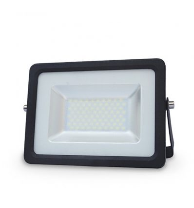 Proyector Ultra fino de Led uso externo color negro 30W