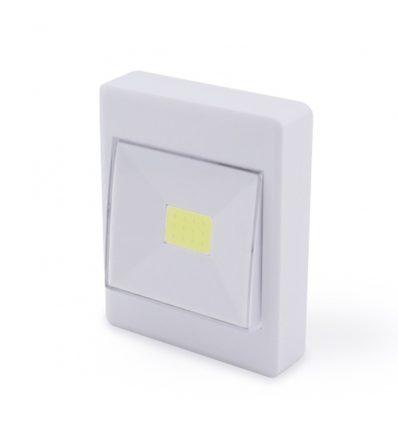 Luz de noche led COB con interruptor y pilas