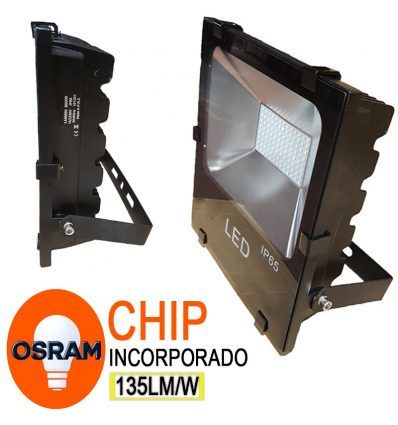 Proyector led con Chip Osram SMD IP65 50W