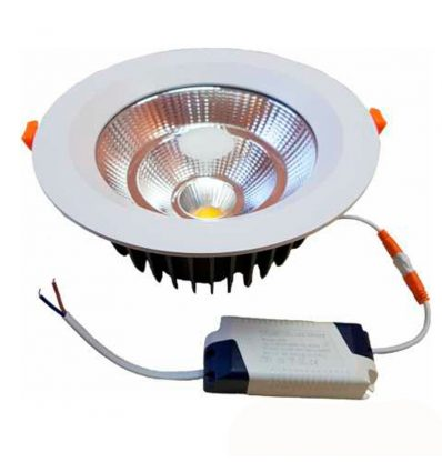 Downlight led COB redondo 10W