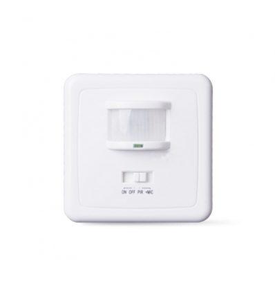 Detector de moviiento y sonido para empotrar en la pared