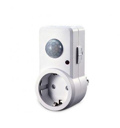 Base con detector de movimiento 120º/360º compatible con led