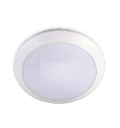 Plafón led con sensor microondas 16W