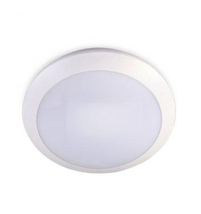 Plafón led con sensor microondas 22W