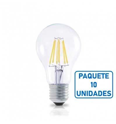Lámpara Estándar Led Serie ORO E27 3000K