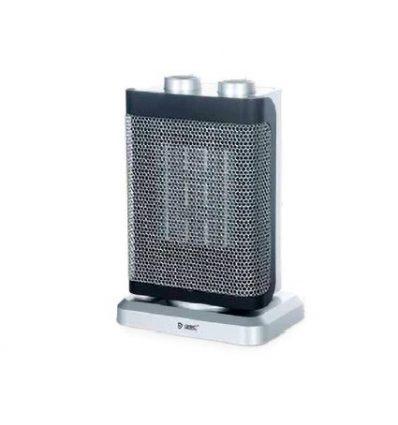 Calefactor vertical giratorio cerámico cuadrado